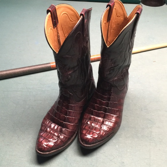 Shoes | Mens Luxury Aligator Boots In